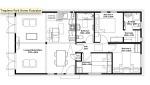 3 bedroom floor layout