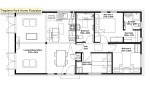 3 bedroom floor layout